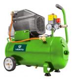Compressor 24 liter 2 PK, olie gevuld._