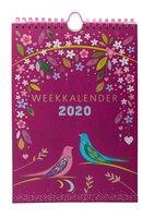 Weekkalender 2020 Folie - Paperclip
