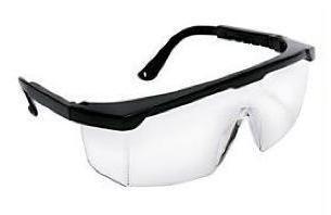 Beschermbril helder / Stofbril / Veiligheidsbril  verstelbaar