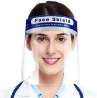Gezichtscherm, Spatmasker, Gezichtmasker, Beschermkap, Face Shield