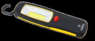 TOPEX Zaklamp COB 24 LED,  met magneet