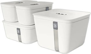 Voedselbewaardoos - Vacuum Box - 1 Large, 1 Medium, 2 Small