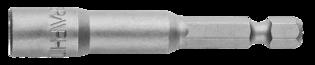 Graphite Bit Dop 6x65mm Magnetisch, Extra Lang