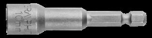 Graphite Bit Dop 10x65mm Magnetisch, Extra Lang