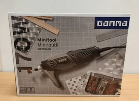 GAMMA minitool MT-170LCD + koffer en 60 accessoires