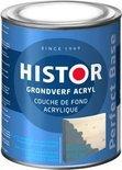 Histor Perfect Base Grondverf Acryl 0,75 liter - Grijs