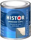 Histor Perfect Base Grondverf Acryl 0,25 liter - Grijs