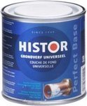Histor Perfect Base Grondverf Universeel 250 ml - Wit