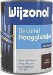 Wijzonol Dekkend Hoogglanslak - 0,75l - 9346 - Bordeauxrood