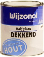 Wijzonol Vakverf Klassiekrood 9349 Halfglans - 0,75 Liter