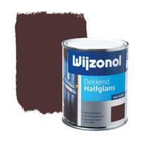 Wijzonol Dekkend Halfglans - 0,75l - 9346 - Bordeauxrood