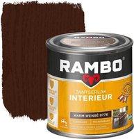 Rambo pantserlak interieur zijdeglans transparant - Warm wengé 0776 - 250mL