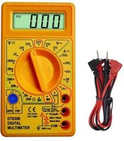 Digitale Multimeter incl. 9 Volt batterij geel