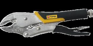TOPEX Griptang gebogen 225 mm