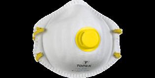 TOPEX Stofkap 2x, fijn stof met filter