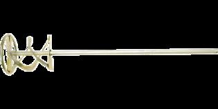 TOPEX Mortelmixer 80 mm Zeskant Aansluiting
