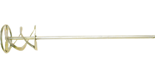 TOPEX Mortelmixer 100 mm Zeskant Aansluiting