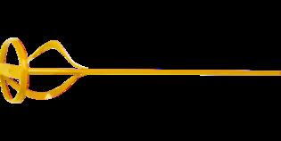 TOPEX Verfmixer 100 mm Zeskant Aansluiting