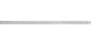 TOPEX Stalen Liniaal 1000 mm