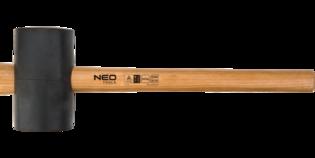 NEO Rubberen hamer 1200 gram, USA Hickory