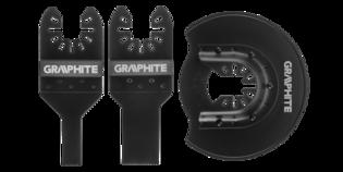 GRAPHITE Multitool METAAL Zaagbladenset