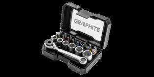 GRAPHITE Bit-dopset 24 Delig