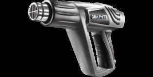 Verf afbrander / hete lucht pistool - GRAPHITE