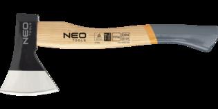 NEO Handbijl/Keukenbijl 800 gram. Houten steel. Gehard staal.