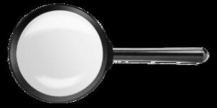 TOPEX Vergrootglas diameter 90 mm.