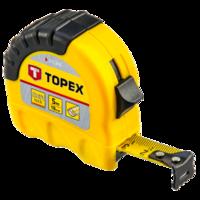 TOPEX Rolmaat 5 m. Shift - Lock
