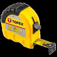 TOPEX Rolmaat 10 m. Shift - Lock