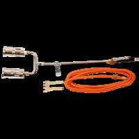 TOPEX Gas Dakbrander/Onkruidbrander set 2 x 60 mm