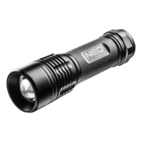 NEO Zaklamp IPX7, LED 3 Watt max 200 Lumen CREE XP - E2.