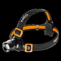NEO Inspectie Hoofdlamp, LED 3 Watt max 250 Lumen CREE XPE, met Stroboscoop.