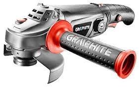HAAKSE SLIJPMACHINE 125 mm 1010 Watt, variabel toerental, handvat draaibaar - GRAPHITE
