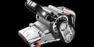 BANDSCHUURMACHINE 800 Watt 75 x 457 mm met koffer - GRAPHITE
