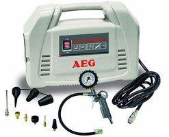 AEG Pit Stop olievrije Compressor 8 bar 1,5 PK.