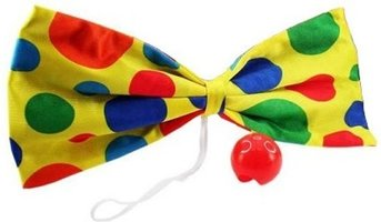 Vlinderstrik met clownsneus
