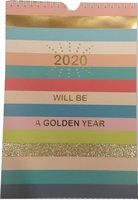 Paperclip - Weekkalender - Will Be A Golden Year - 2020