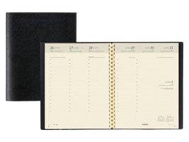 Brepols Bureau Agenda 2021 - Timing  Spiraal zwart 7 dagen/2 pagin's + adresboek