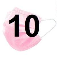Mondkapjes FFP2 10 stuks roze