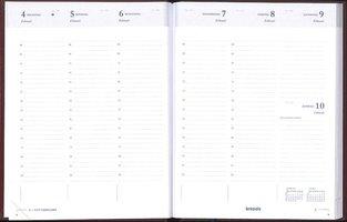 Brepols Agenda 2021 • Timing • Lima • 17,1 x 22 cm • Bordeaux