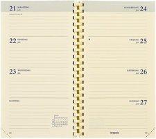 Agendavullling Brepols Interplan 2021 - Creme Papier NEDERLANDS (9cm x 16cm)