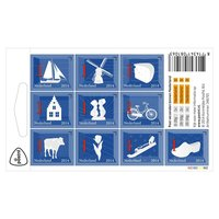 Postzegel Nederlandse Iconen (10 st.)