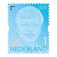 Postzegel koning Willem-Alexander 1 (10 st.)