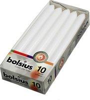 Bolsius Dinerkaarsen - 230/20 - Wit - 10 St