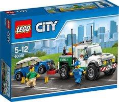 LEGO City Pick-up Sleepwagen - 60081