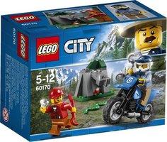LEGO City Bergpolitie Off-road Achtervolging - 60170