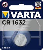 Knoopcel CR1632 Varta batterij