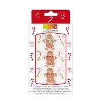 ScrapCooking Suikerfiguren Gingerbread man - Set/9